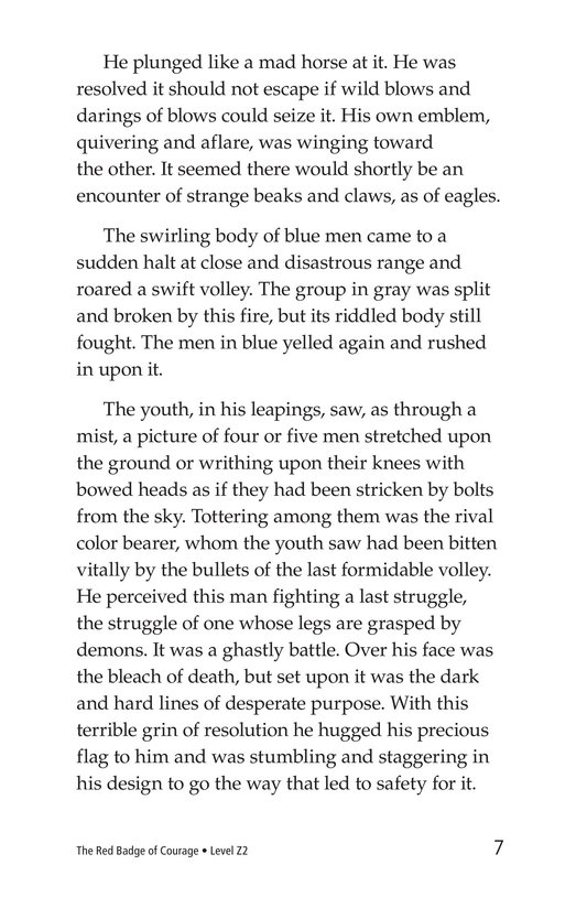 Book Preview For The Red Badge of Courage (Part 14) Page 7