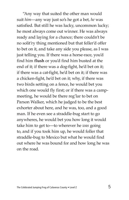 Book Preview For The Celebrated Jumping Frog of Calaveras County Page 5