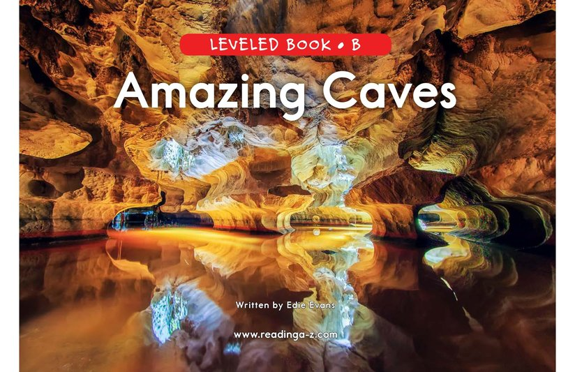 Book Preview For Amazing Caves Page 0