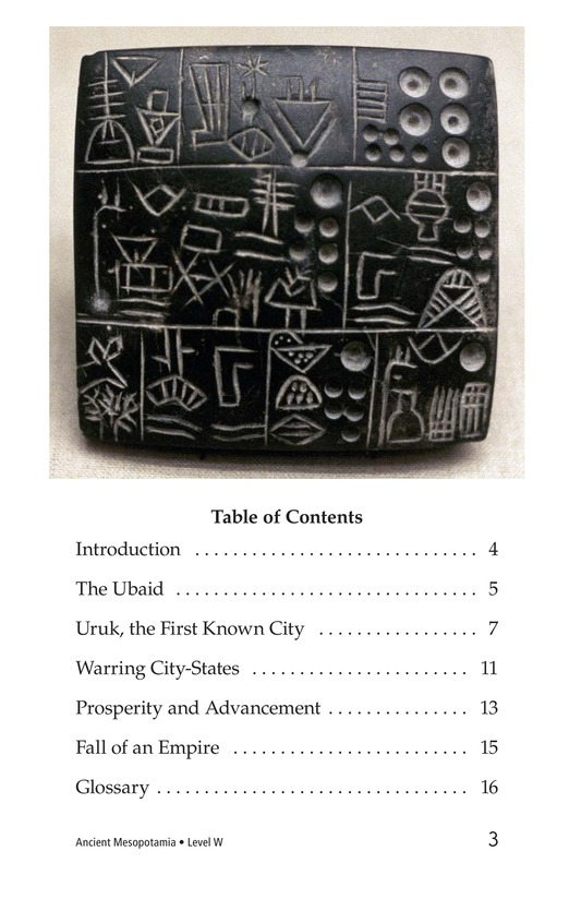 Book Preview For Ancient Mesopotamia Page 3