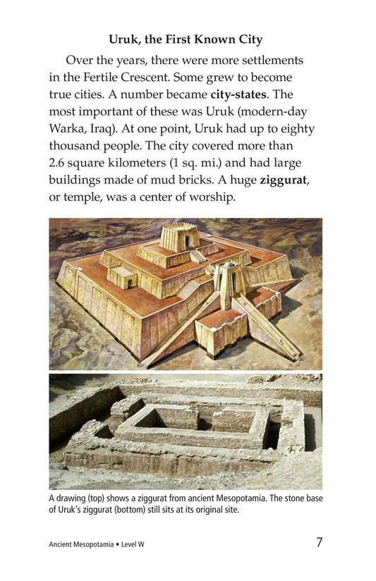 Book Preview For Ancient Mesopotamia Page 7