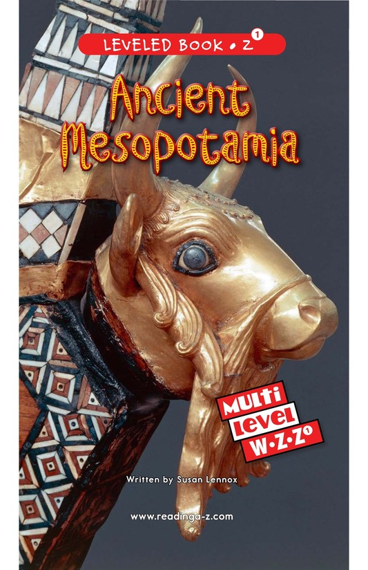 Book Preview For Ancient Mesopotamia Page 0