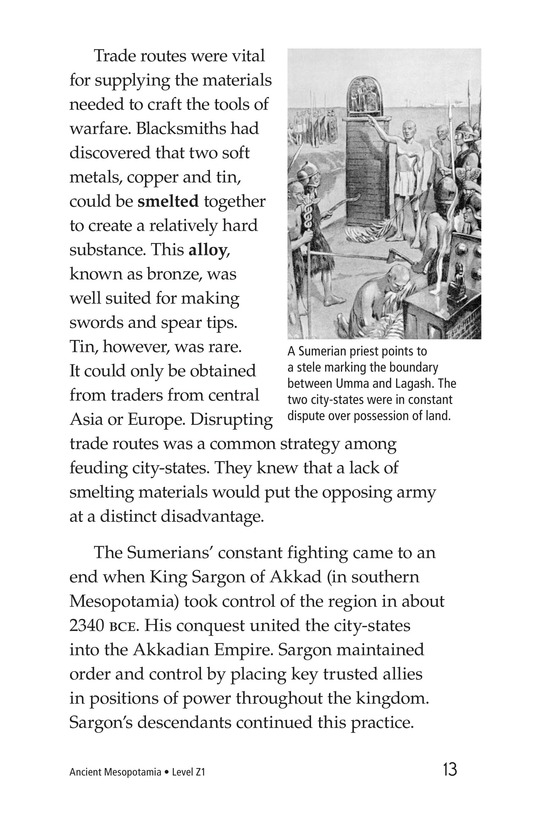 Book Preview For Ancient Mesopotamia Page 13