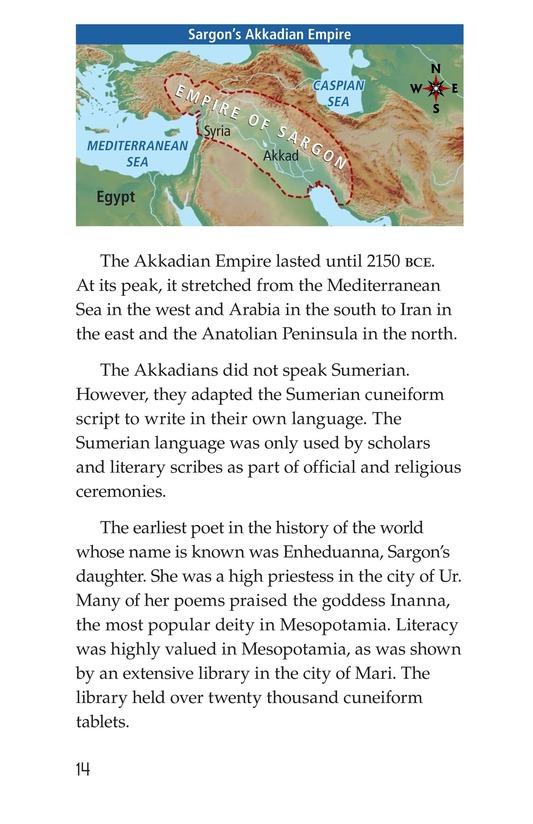 Book Preview For Ancient Mesopotamia Page 14