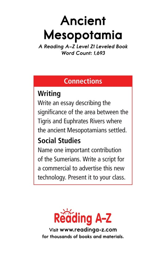Book Preview For Ancient Mesopotamia Page 21