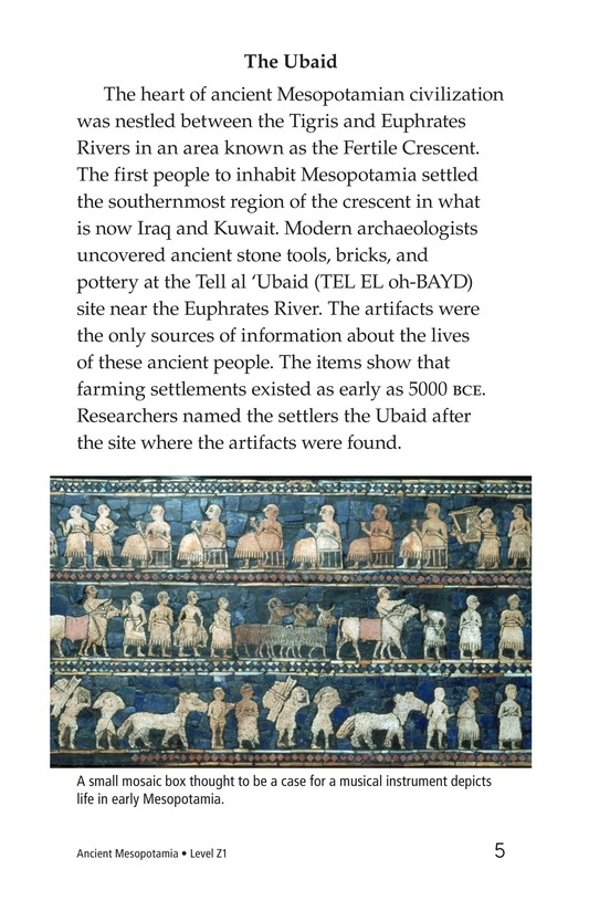 Book Preview For Ancient Mesopotamia Page 5