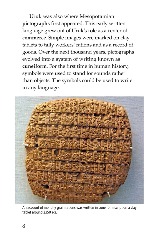 Book Preview For Ancient Mesopotamia Page 8