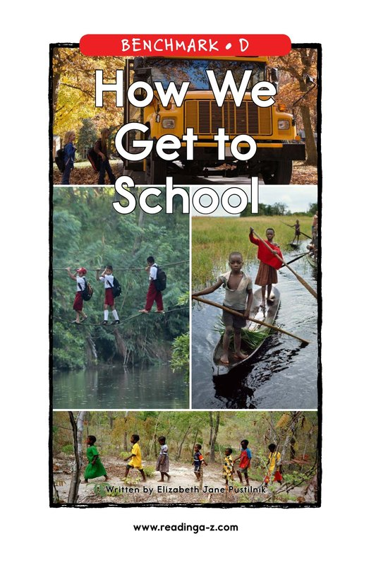 Book Preview For How We Get to School Page 1