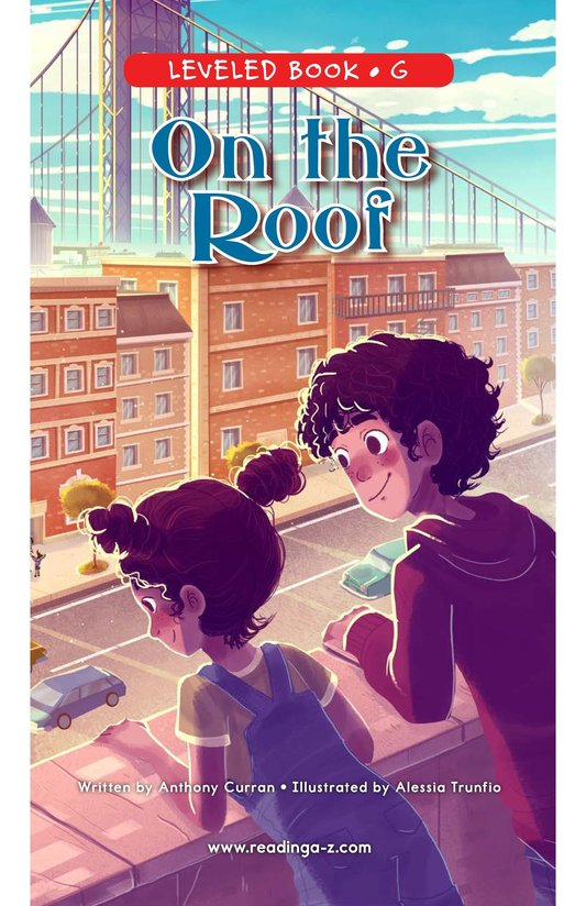 Book Preview For On the Roof Page 0