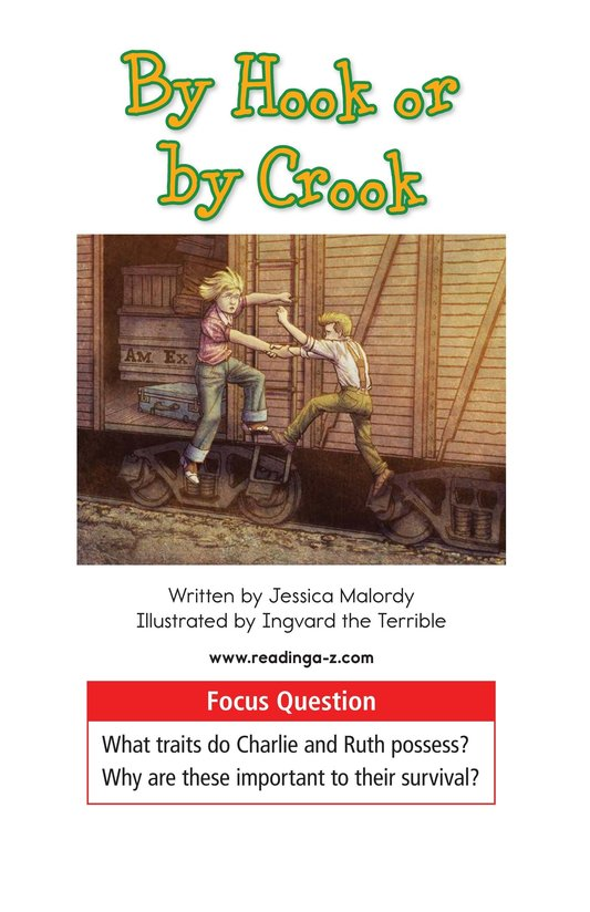Book Preview For By Hook or by Crook Page 1