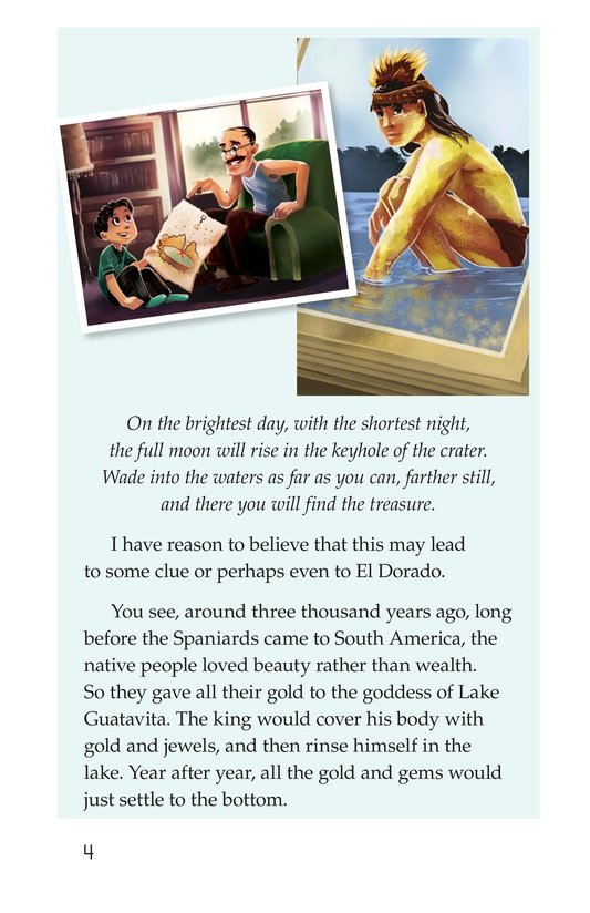 Book Preview For The Treasure of El Dorado Page 4