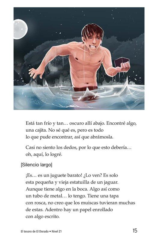 Book Preview For The Treasure of El Dorado Page 15