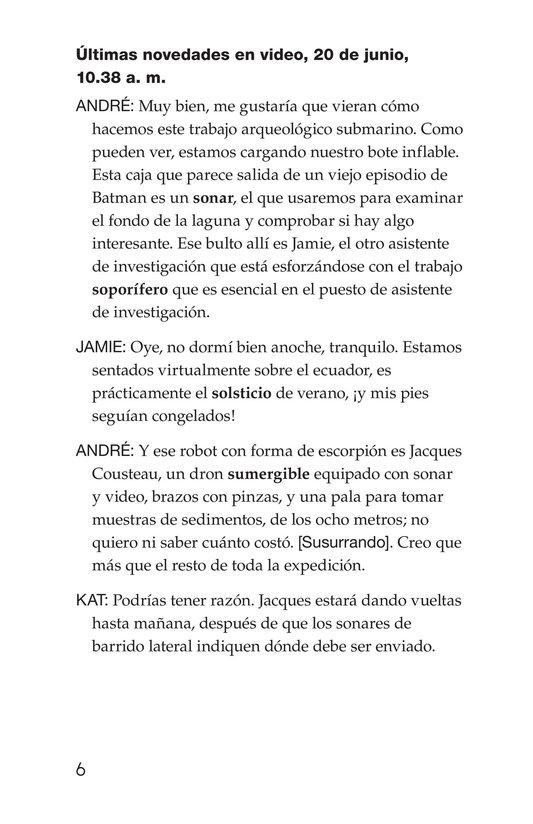 Book Preview For The Treasure of El Dorado Page 6
