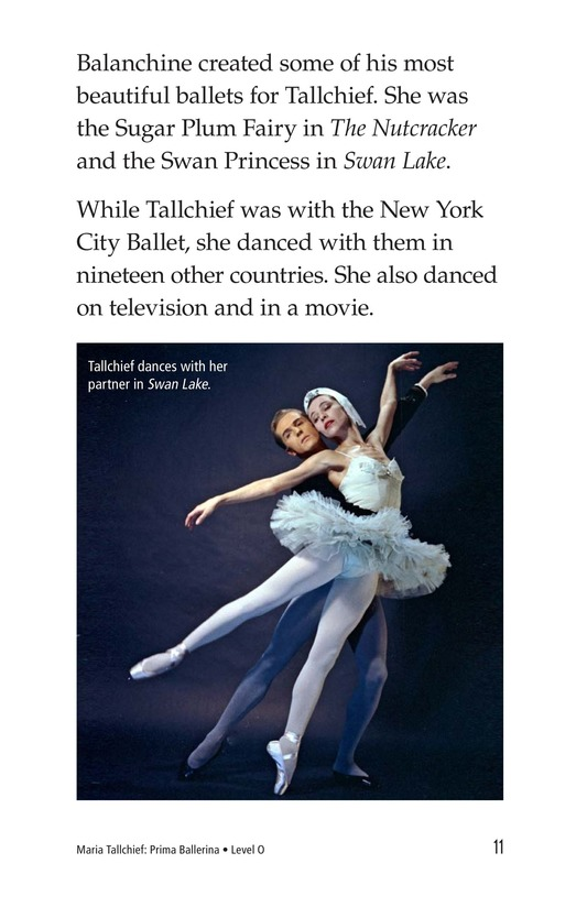 Book Preview For Maria Tallchief: Prima Ballerina Page 11