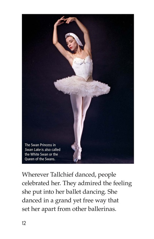 Book Preview For Maria Tallchief: Prima Ballerina Page 12