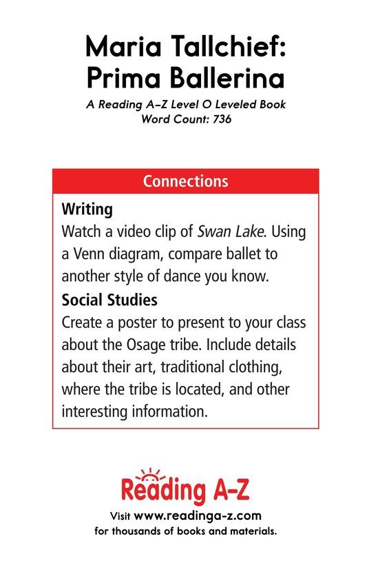 Book Preview For Maria Tallchief: Prima Ballerina Page 17