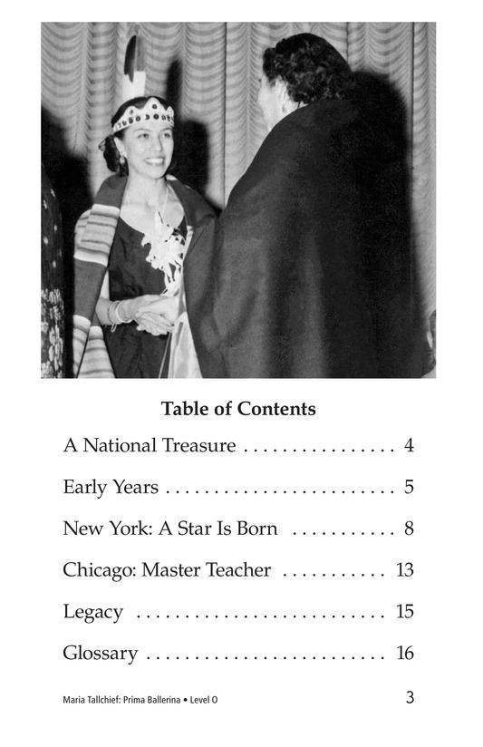 Book Preview For Maria Tallchief: Prima Ballerina Page 3