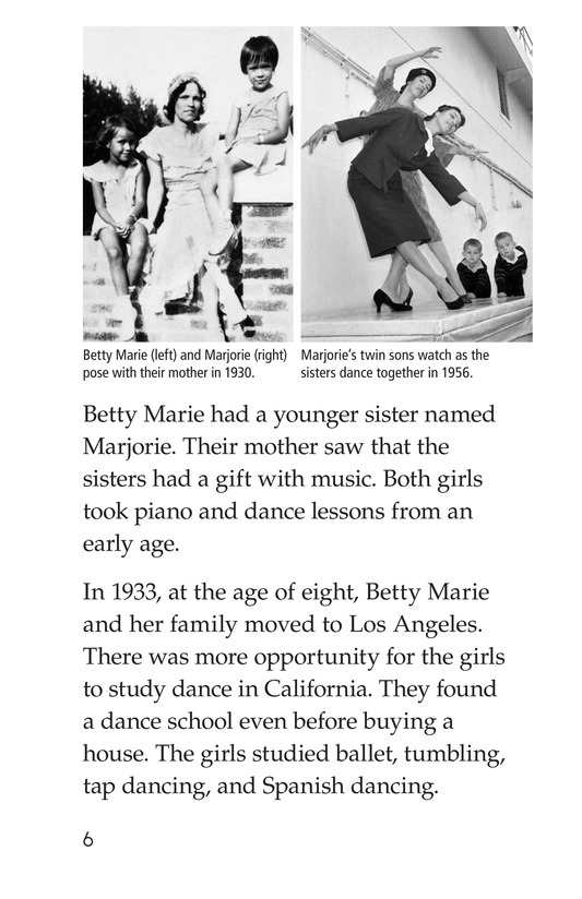 Book Preview For Maria Tallchief: Prima Ballerina Page 6