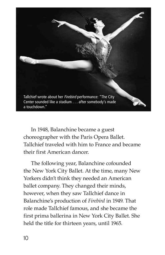 Book Preview For Maria Tallchief: Prima Ballerina Page 10