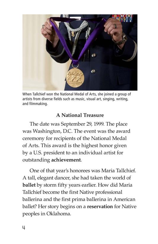 Book Preview For Maria Tallchief: Prima Ballerina Page 4