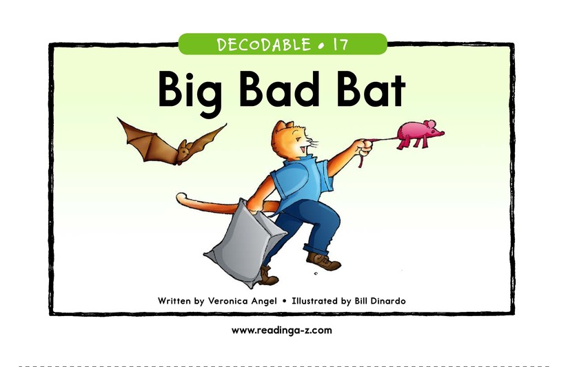 Book Preview For Big Bad Bat Page 1