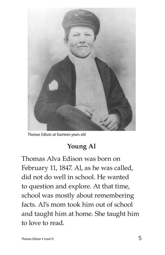 Book Preview For Thomas Edison Page 5