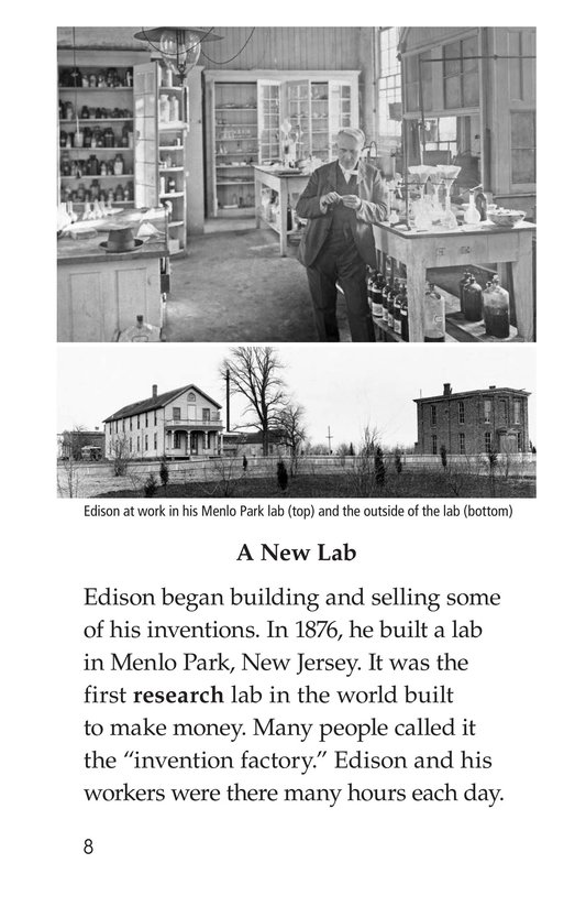 Book Preview For Thomas Edison Page 8