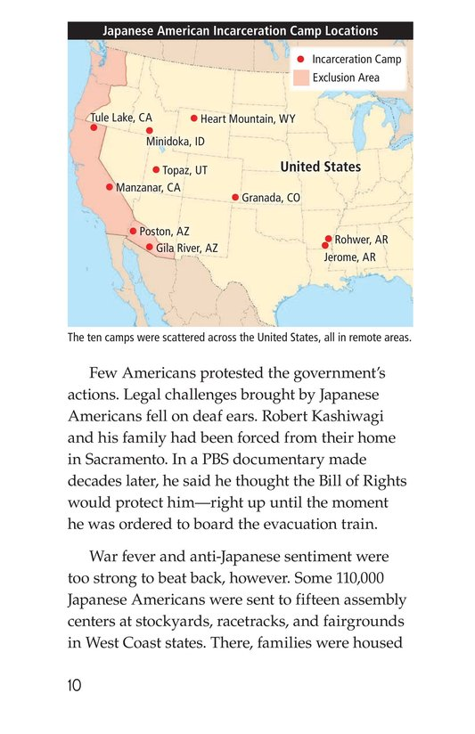 Book Preview For Japanese American Incarceration During World War II Page 10