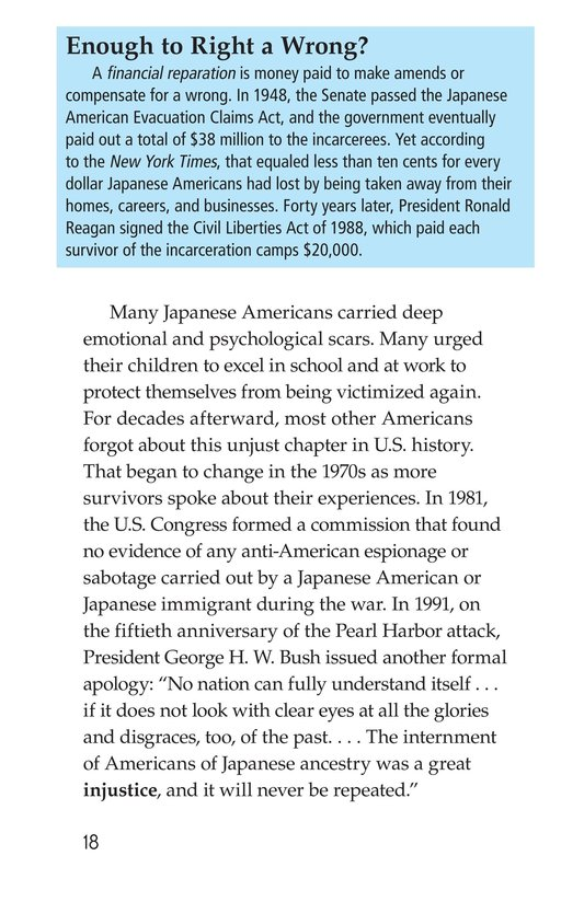 Book Preview For Japanese American Incarceration During World War II Page 18