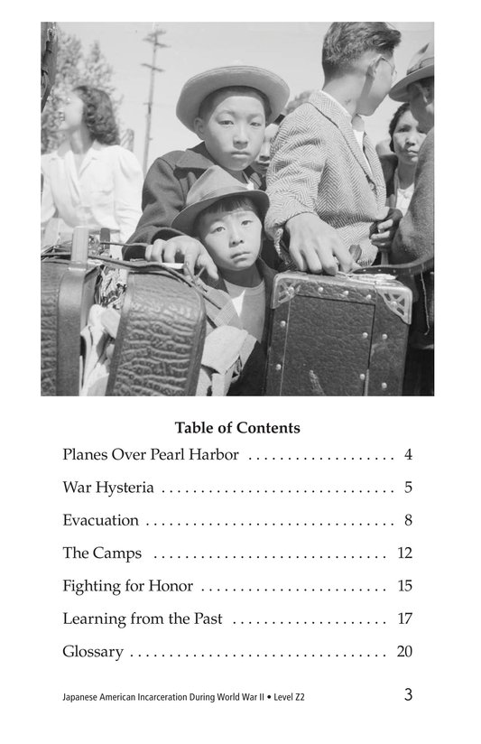 Book Preview For Japanese American Incarceration During World War II Page 3