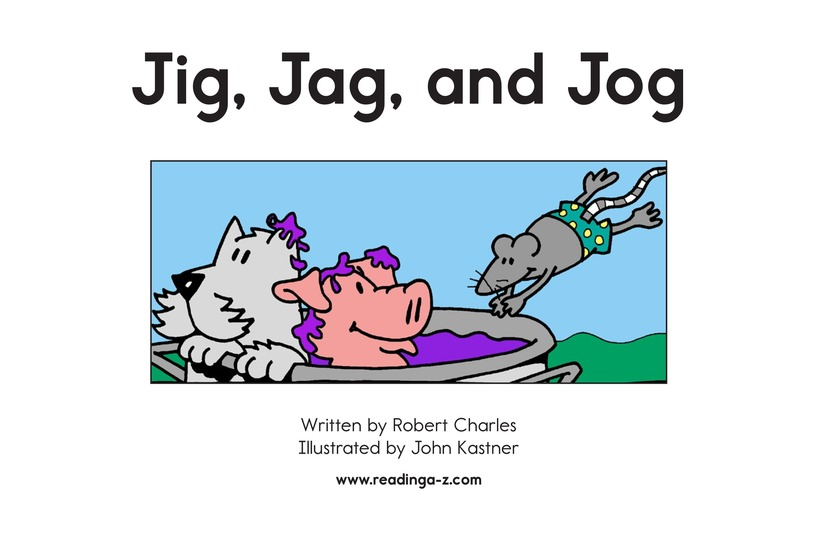 Book Preview For Jig, Jag, and Jog Page 2