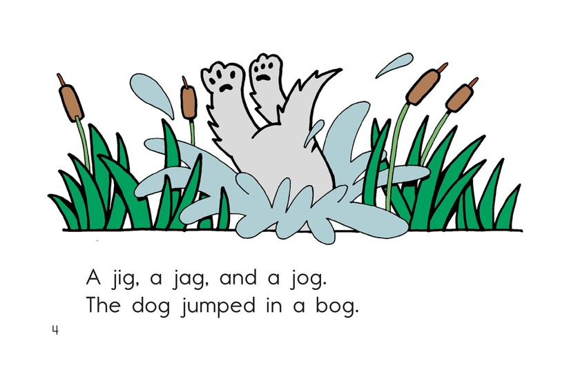 Book Preview For Jig, Jag, and Jog Page 4