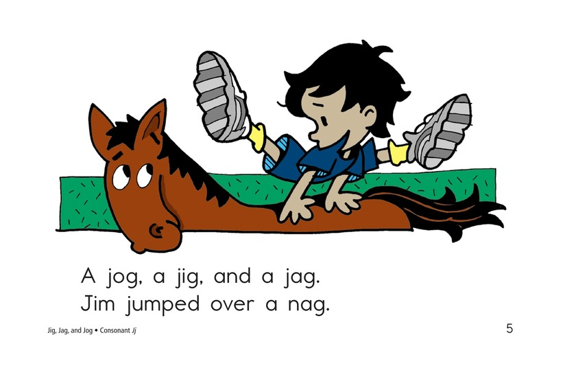 Book Preview For Jig, Jag, and Jog Page 5