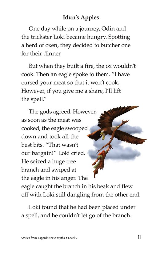 Book Preview For Stories from Asgard: Norse Myths Page 11