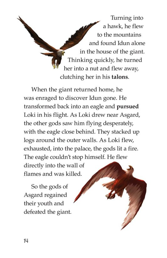 Book Preview For Stories from Asgard: Norse Myths Page 14