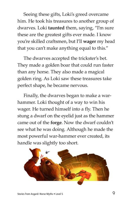 Book Preview For Stories from Asgard: Norse Myths Page 9