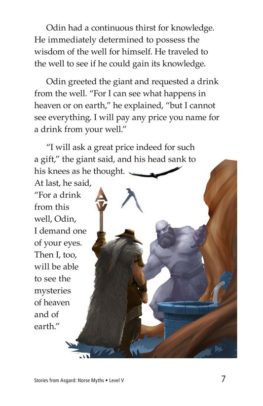 Book Preview For Stories from Asgard: Norse Myths Page 7