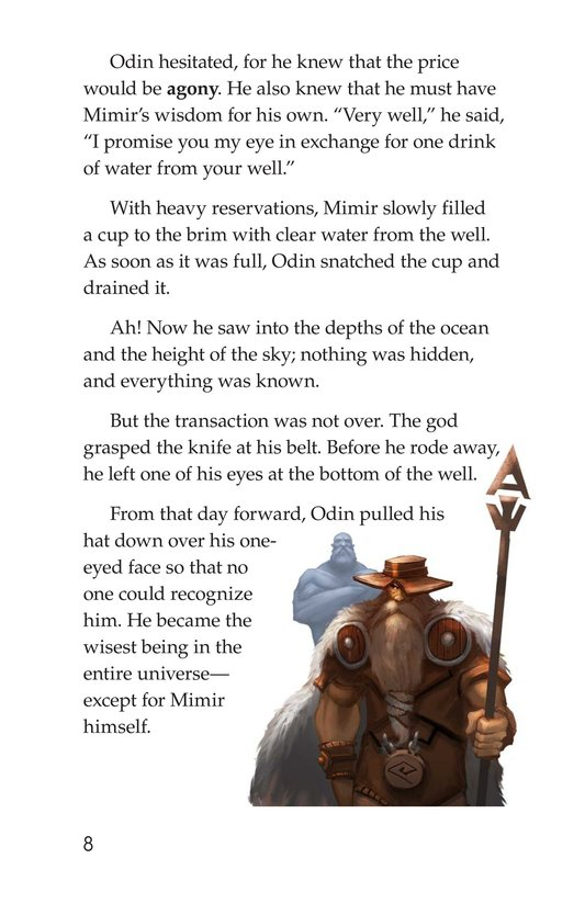 Book Preview For Stories from Asgard: Norse Myths Page 8