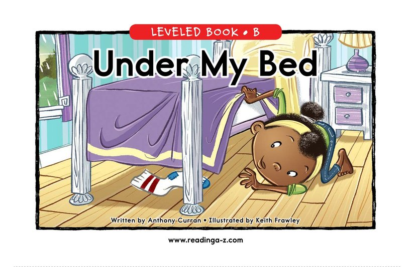 Book Preview For Under My Bed Page 0