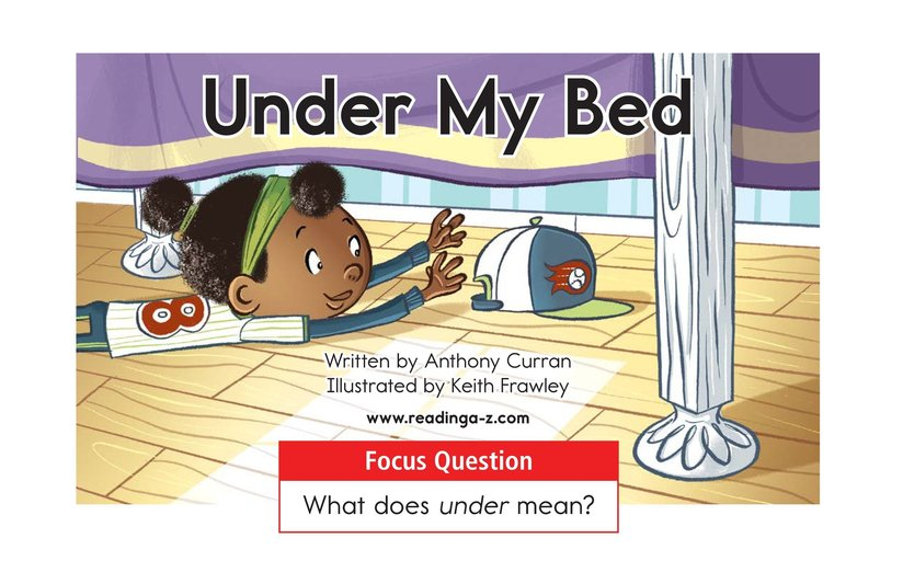 Book Preview For Under My Bed Page 1