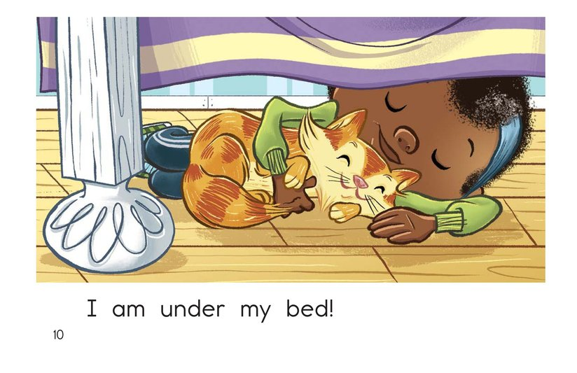 Book Preview For Under My Bed Page 10