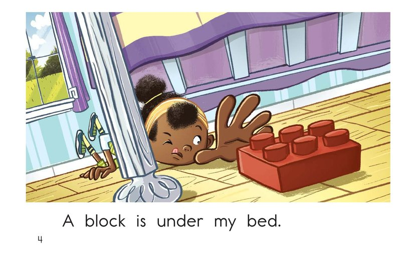 Book Preview For Under My Bed Page 4
