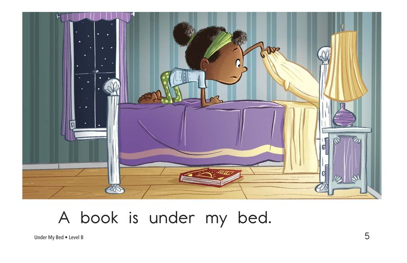 Book Preview For Under My Bed Page 5