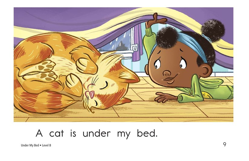 Book Preview For Under My Bed Page 9