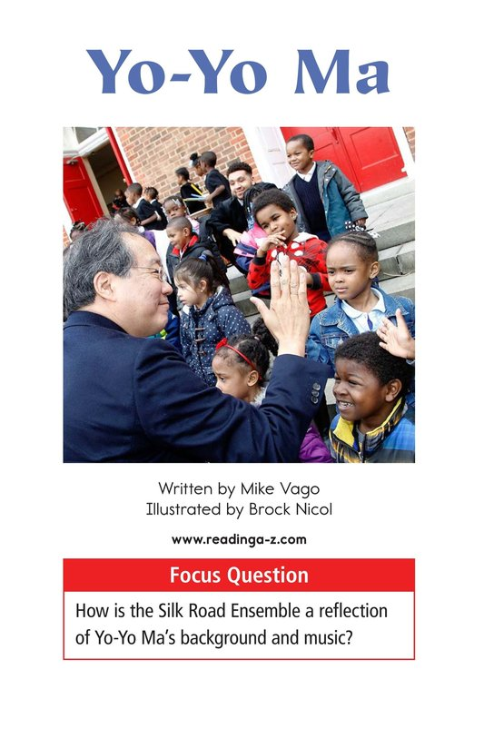 Book Preview For Yo-Yo Ma Page 1