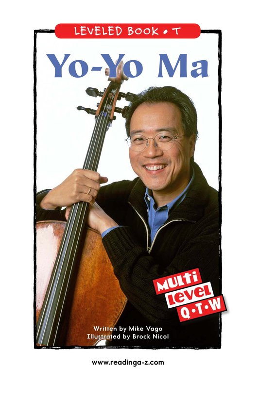 Book Preview For Yo-Yo Ma Page 0