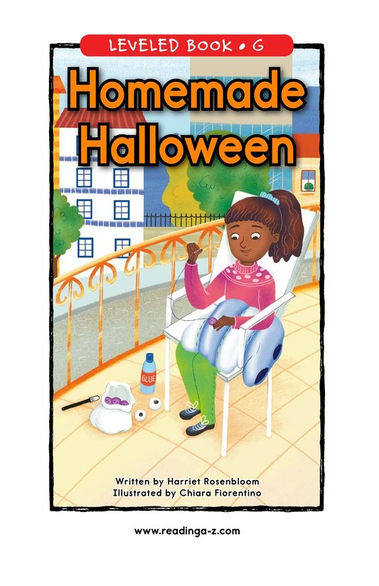 Book Preview For Homemade Halloween Page 0