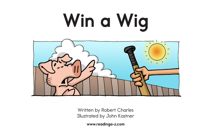 Book Preview For Win a Wig Page 2