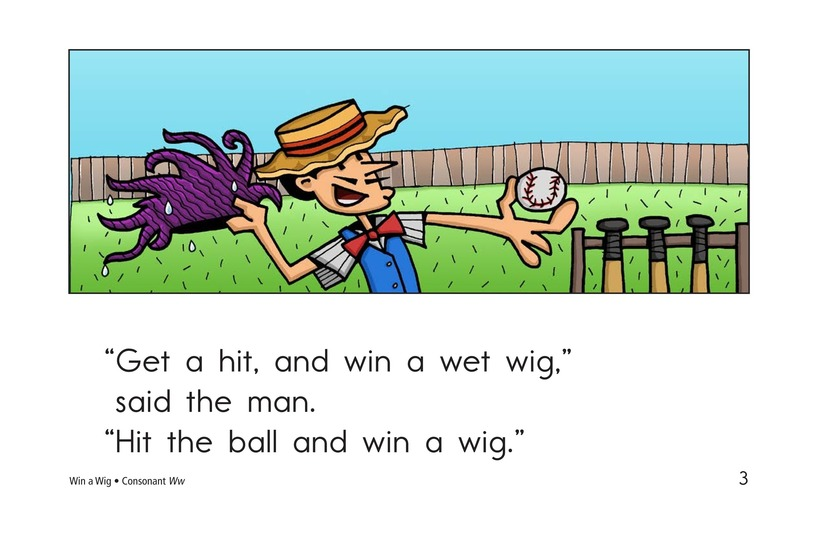 Book Preview For Win a Wig Page 3