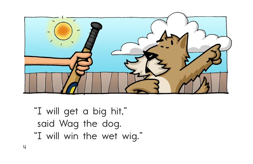 Book Preview For Win a Wig Page 4